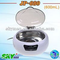 Portable home use supersonic cleaner,New design dental supplies, ultrasonic cleaner dental 600ml