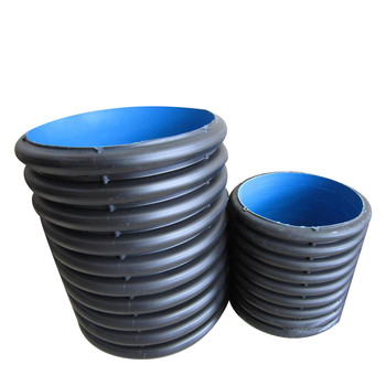 Hdpe Double Wall Corrugated Drain Pipe Concrete Culvert Pipe For Sale