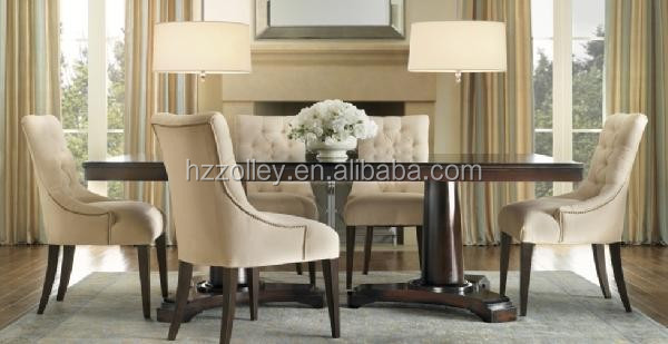Mesa De Comedor Y Sillas Muebles De Madera De Haya/madera Apenada ...