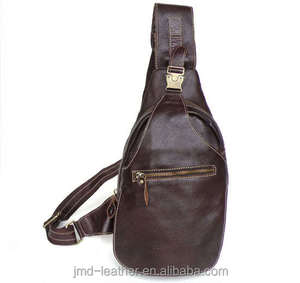 2467 New Leather Unique Men Backpack Shoulder Messenger Bag