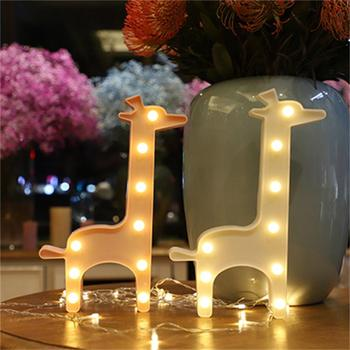 Best Selling Home Decaortion Lighted Giraffe Marquee Lights