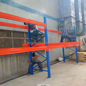 Commercial 4 layer wire mesh plastic coated wire shelving