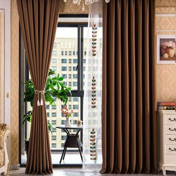 Modern Fashion Brown Curtains For Living Room - Buy Curtains For Living  Room,Brown Curtains,Curtains Modern Product on Alibaba.com