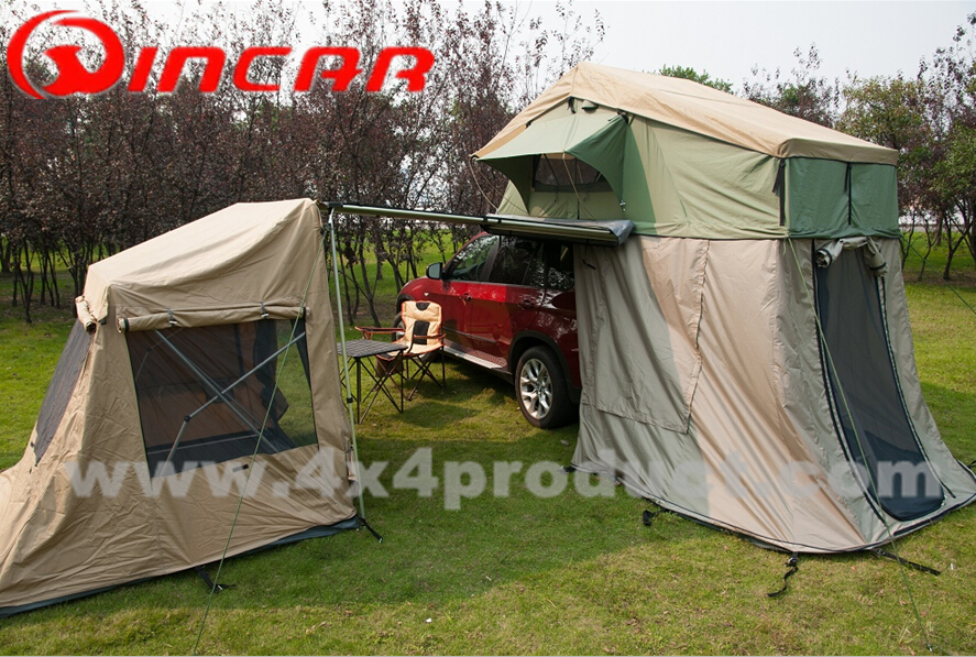 Quick pitch tent 4X4 hunting with awning heavy duty canvas tent fabric stretch tent & Quick pitch tent 4X4 hunting with awning heavy duty canvas tent ...