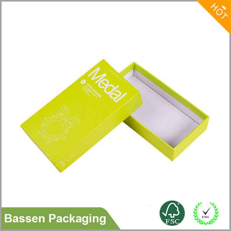 High Quality Printing Gift Rigid Cardboard Box Matt Finish Packing customized Logo Gift Box