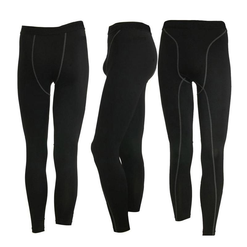 Compression Men Athletic Base Layer Sports Skin Under Tight Leggings Running Gym