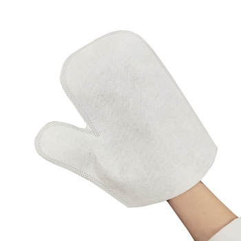 Cleaning non woven cloth glove,disposable non-woven washing gloves,disposable glove