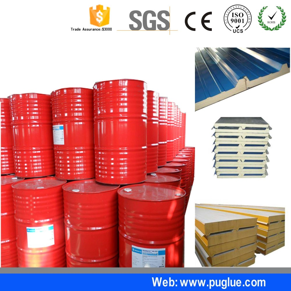 China Polyurethane Manufacturer !! polyurethane liquid for PU foam sandwich panel