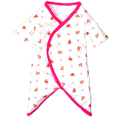 tc6011 newborn clothes cute style short sleeve baby one piece cotton cartoon print pink baby romper jumpsuit