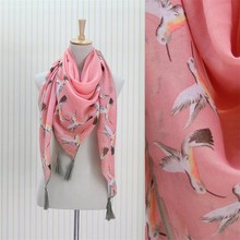 Modern printing scarf voile pashmina animal print scarves shawl and scarf