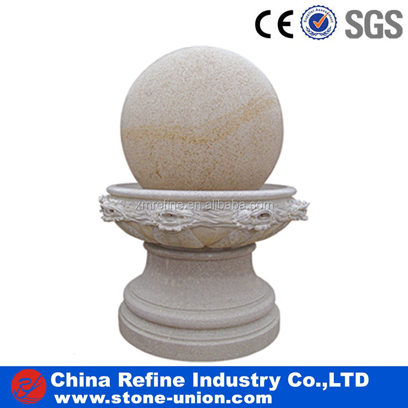 Granite carved Fortune ball fountains