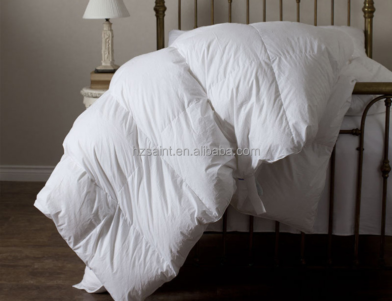 home bed use goose down throw down blanket down quilts