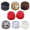 4pcs Set Colorful Electric Guitar Speed Volume Tone Control Knobs Button Guitar Bass Parts High Quality