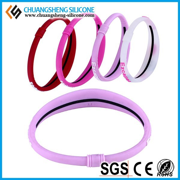 Deet free natural mosquito repellent glow silicone bands for wedding party