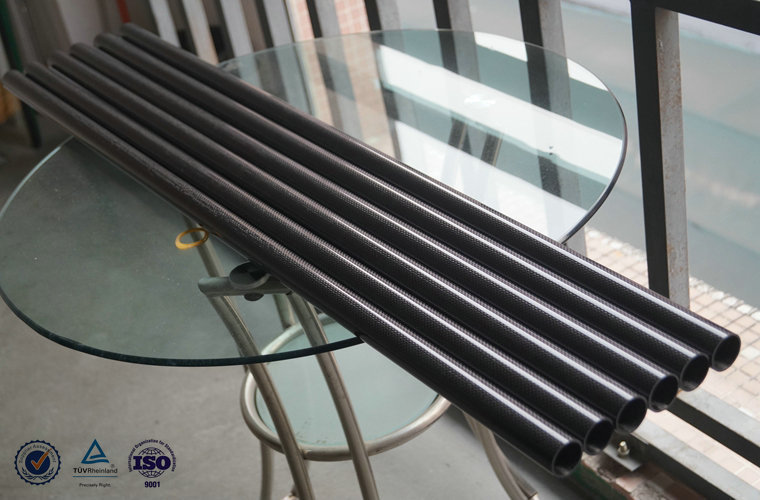 Custom 3K Carbon Fiber Tubes, Wholesale CF Tubes