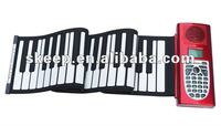 2012 hot selling 37 key silicone waterproof piano for promotion