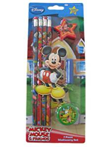 Mickey Mouse and Friends Officially Licensed Disney 8 Piece Stationery Set