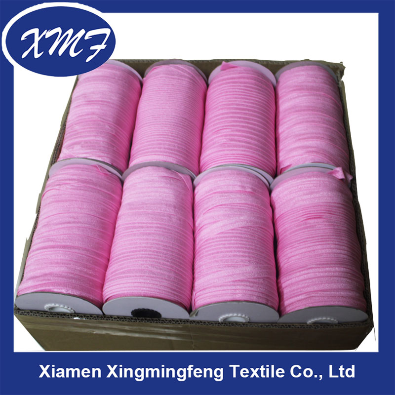 1.5cm Polyester Knitted Elastic Band for Garment elastic tape in stock