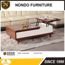 wooden lift top coffee table S1020A