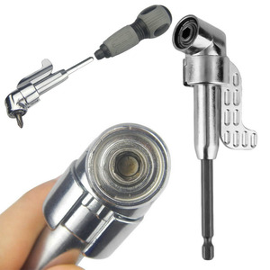 1/4 Inch 105 Degree Adjustable Hexbit Angle Driver Electric Screwdriver Magnetic Bit Wrench Hex Bit Drive Offset Attachment hot