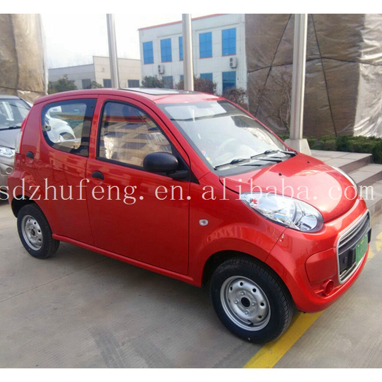 Electric utility vehicles Cheap price 4 seats electric car with solar panel A7