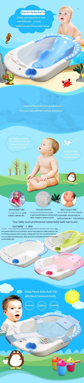 High Quality New Product Plastic Baby Washing Bath Tub With Bath ...