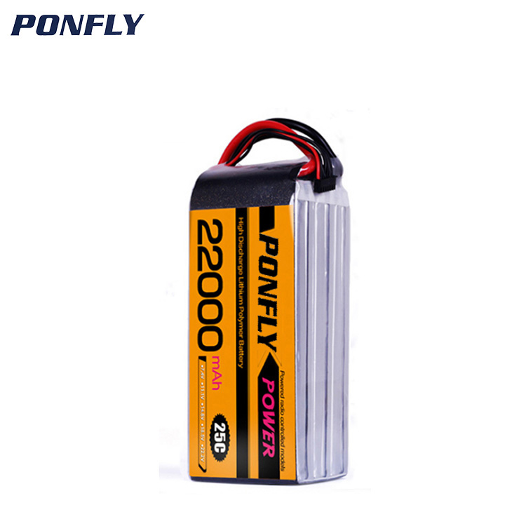 Commerci all'ingrosso 6691215 11.1 v 3 s 22000 mah ricaricabile lipo batteria al litio pack per RC auto