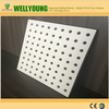 magnesium type boards perforated feature acoustic panel