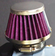 China Manufacturer Factory Price 60mm Motorcycle Spike Air Filter