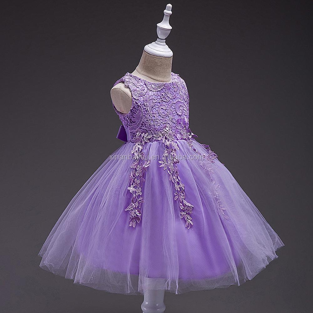 1 años bebé vestido de fiesta de cumpleaños vestido de niña de flor ...