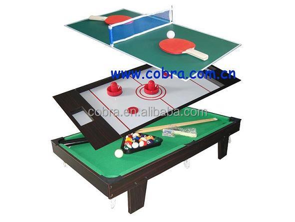 In mini speeltafel pooltafel air hockey tafel en