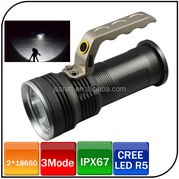 Super light zoom focus 1600 lumen 10W CREE lantern led aluminum flashlight with 3 mode