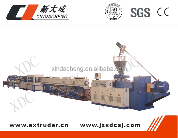 Advanced technology PVC pipe machine with competitive price