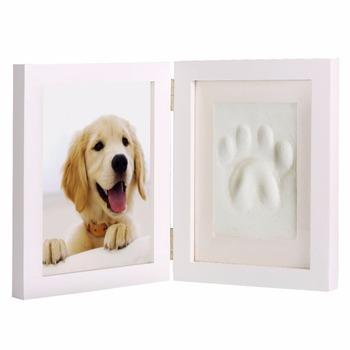 Pet Keepsake Photo Frame With Clay Imprint Kit For Gift - Buy Dog ...