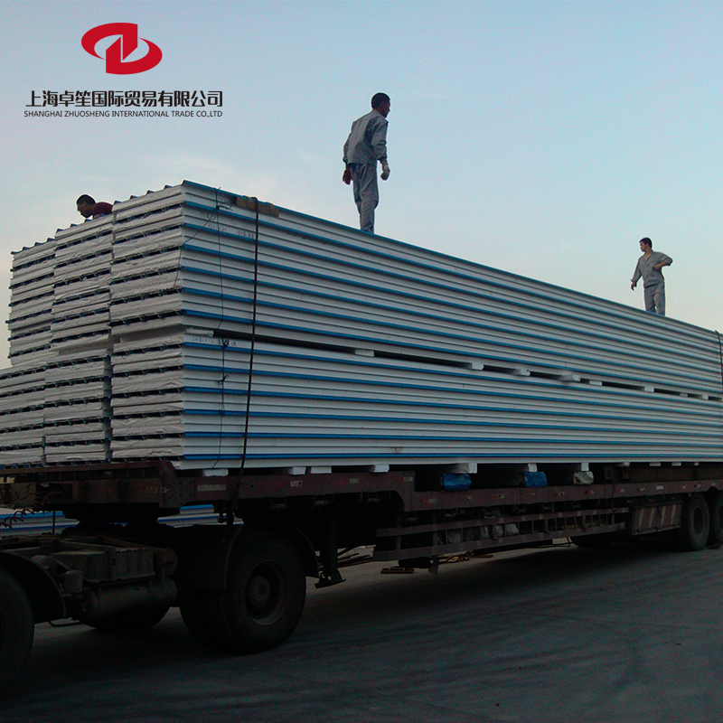Industrial Building Board Galvanized Prepainted Sandwich Panel for Wall