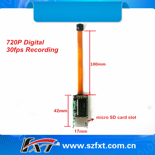 30fps Av Digital 1280*720p Recording Long Range Mini Wireless ...
