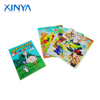 Xinya Bulk Buying Custom Soft Cover Children Coloring Book Printing With  Perforation - Buy Custom Coloring Book Printing-childrens Coloring ...