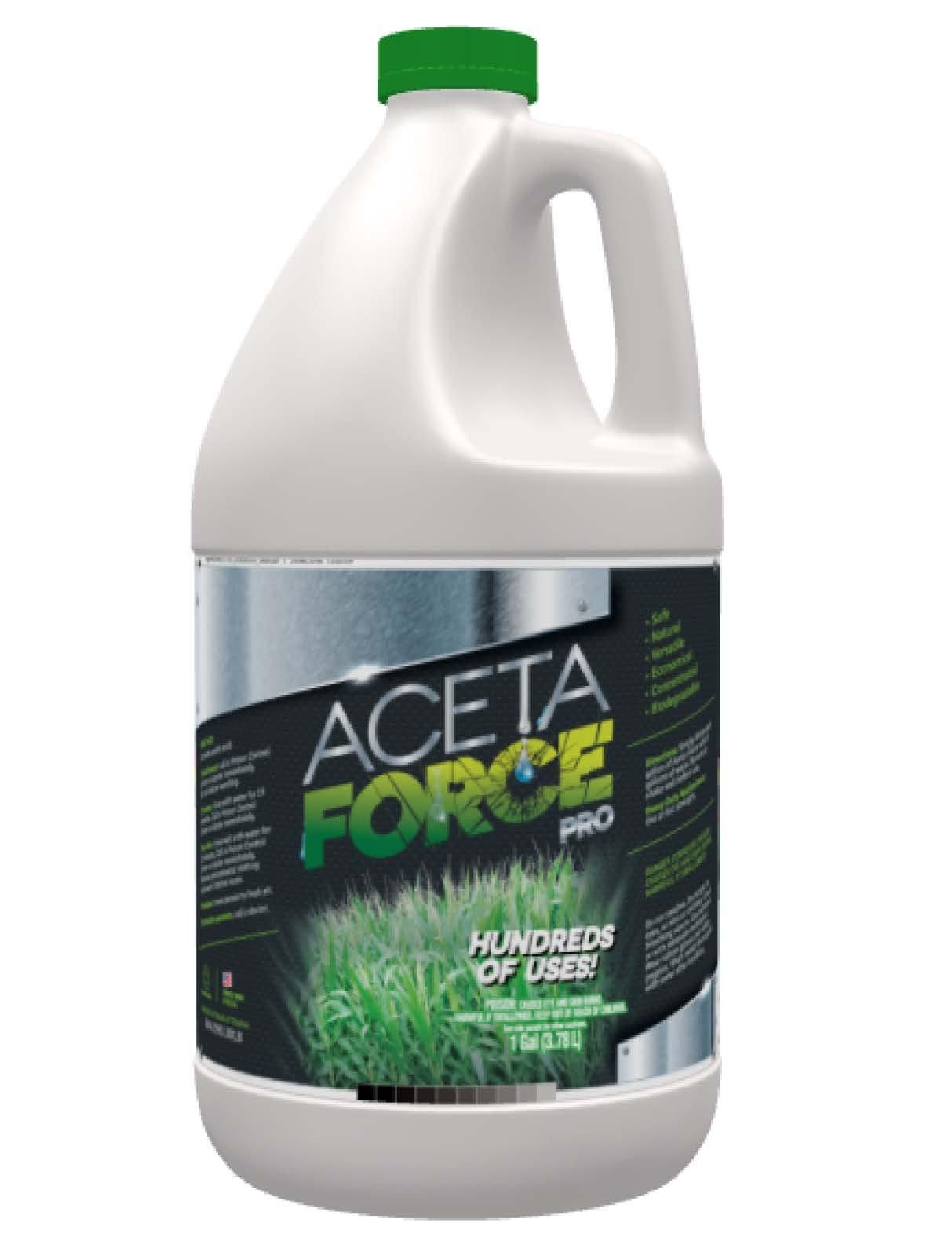 ACETA FORCE Industrial Strength 30% Natural Acetic Acid VINEGAR Multi Purpose For Home & Garden - 1 Gallon (1 Gallon)