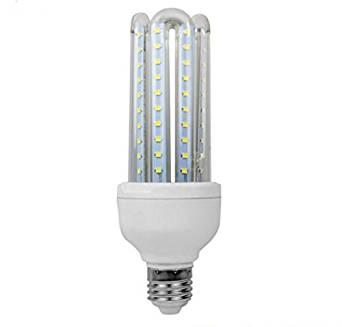 Anjeet 16W LED Corn Light E27 Led Light Bulbs 6000K- 6500K Cool White Home Lighiting Fixture 80pcs Leds 2835SMD,AC 85V~265V (16)