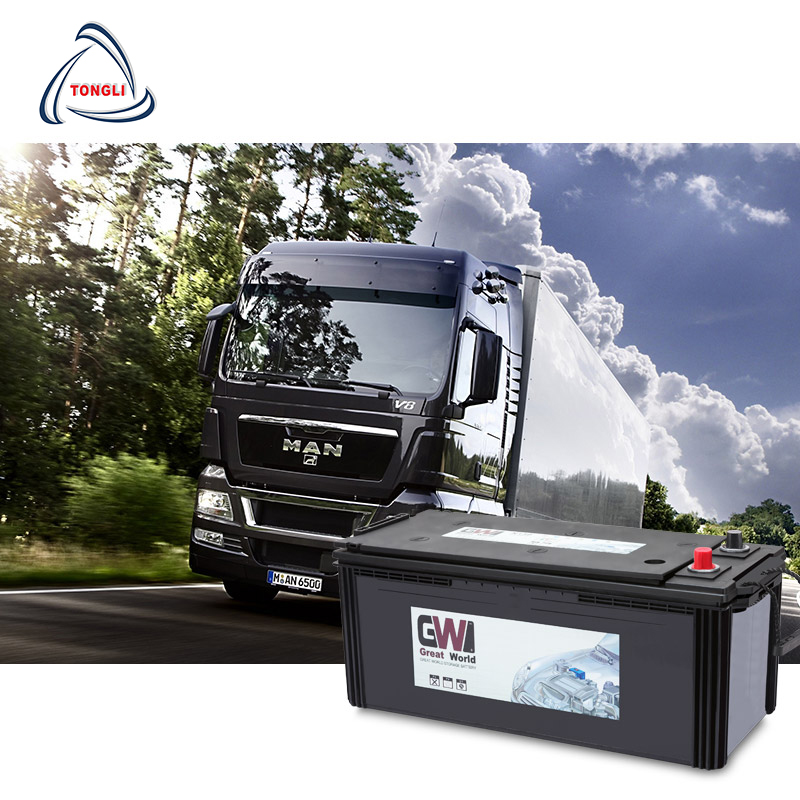 12v 180Ah/N180 Heavy Duty Truck Battery JIS Standard Maintenance Free Powerful Battery With Long LIfe
