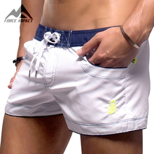 New Men's Swim Shorts Quick Dry Maillot De Bain Fitness Sport Men's Board Shorts Bermuda Surf Swimwear Fashion Sea Shorts