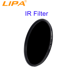 LIPA optical glass 850nm IR filters for digital camera