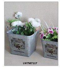 Vintage Shabby Wholesale Flower Box Wood Planter Boxes