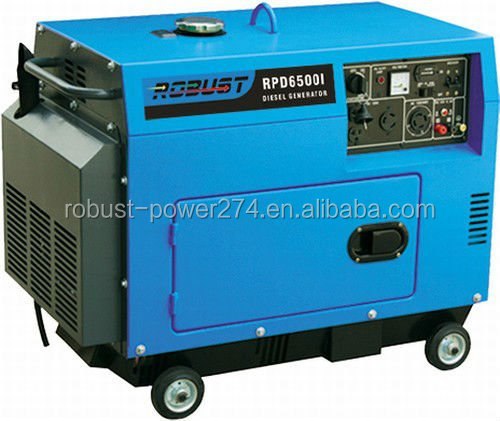 5KW Electric Start Portable Diesel Generator