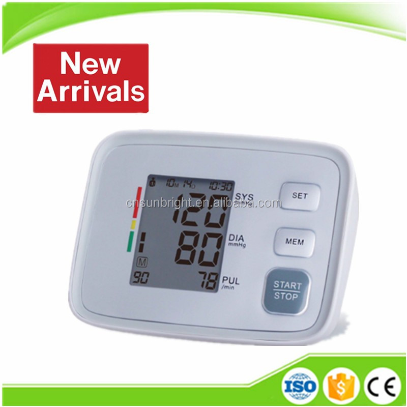 2017 New arrival high accuracy SUN-200E digital automatic blood pressure monitor