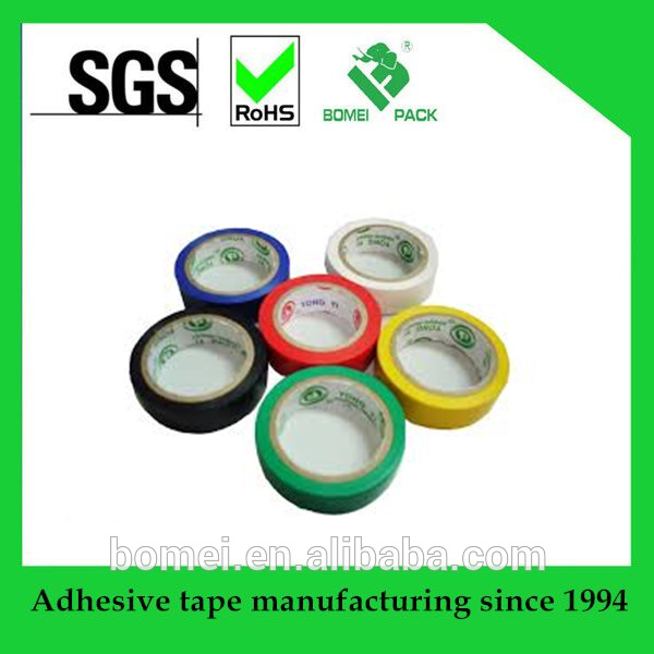 Excellent Quality PVC Electrical Insulation Tape for Wrapping of Wires