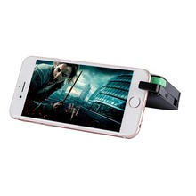 20000mah power bank with phone holder, flash light, Build-in cable