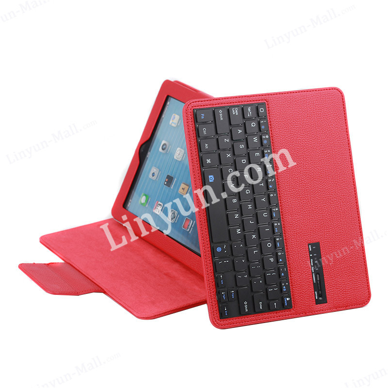 for iPad ABS bluetooth keyboard cases,detachable tablet bluetooth keyboard case for iPad