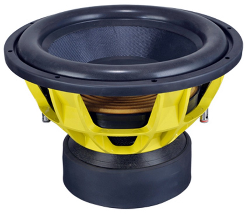 High quality competition SPL 15inch car subwoofer with Triple magnet 1500W