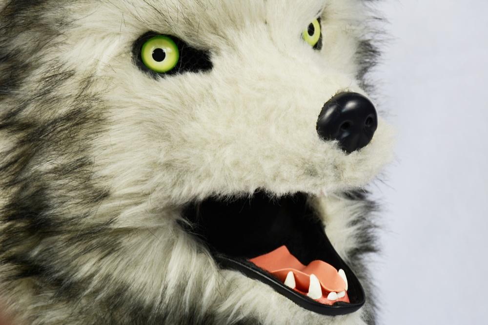 Lobo moviendo la boca m scara con motor boca m scara dise o al por mayor oem odm obm fabricaci n - Moviendo perchas ...